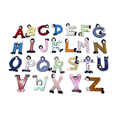 bunte holzbuchstaben fuer kinderzimmer | Schnäppchen finden, leicht ...