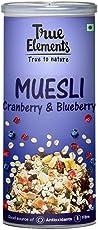True Elements Cranberry and Blueberry Muesli, 400g