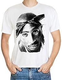 Tupac T-Shirt Weiß