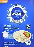 Davert Basmati-Reis im Kochbeutel, 6er Pack (6 x 250 g) - Bio