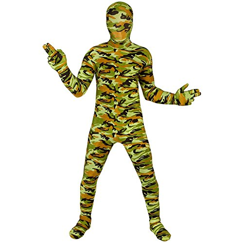 Morphsuits KPCOM - Commando Kinder Kostüm, 119-136 cm, Größe M (Commando Kostüme)