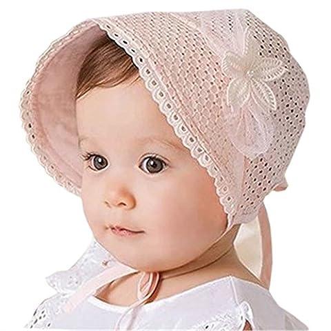 HABI - Chapeau - Bébé (fille) - Rose - taille unique