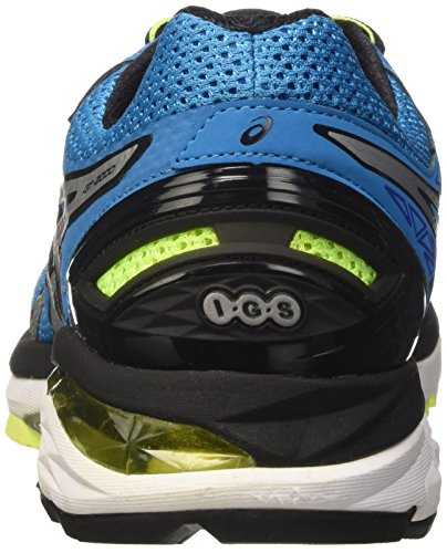 Asics Gt-2000 4, Entraînement de course homme Bleu (Blue Jewel/Black/Safety Yellow)