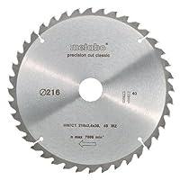 Metabo 628060000 216 x 30.40WZ5HW/CT CircularSaw Blade