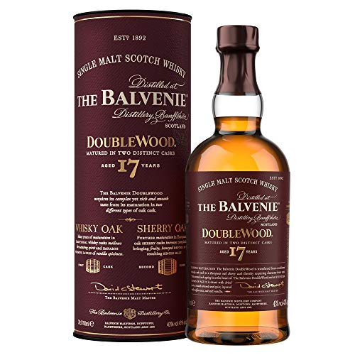 Balvenie 17 Ans Double Wood Single Malt Whisky 70 cl
