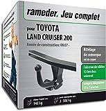 Rameder Attelage démontable avec Outil pour Toyota Land Cruiser 200 + Faisceau 13 Broches (162799-07806-1-FR)