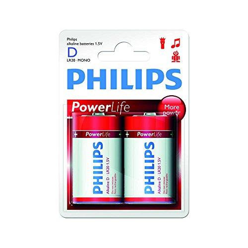 Philips Power Life 2 blister LR20 (D)