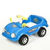 #9: !!! Launch Offer - Selling at Crazy Price !!! Dash Civic Kids Ride on Cum Paddle Car with Lights and Horn (Blue)