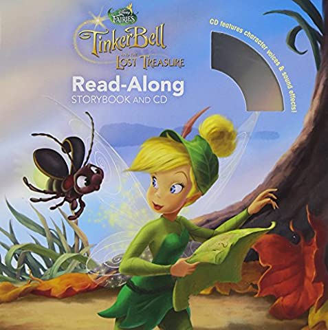 Tinker Bell and the Lost Treasure Read-Along Storybook and CD