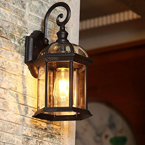 YU-K Antike Edison, Industrieausführung Wandleuchten outdoor wall Light Industrial retro Innenhof...