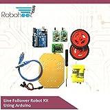 #4: Line Follower Robotics Kit using Arduino