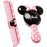 Disney Brush And Comb Set (Pink)