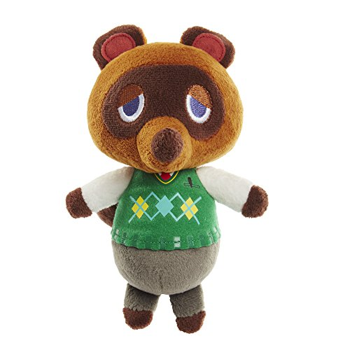 Nintendo Animal Crossing - Tom Nook Plush - Raccoon - 17.8cm 7""