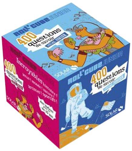 Roll'cube junior : 400 questions réponses spécial junior par Solar