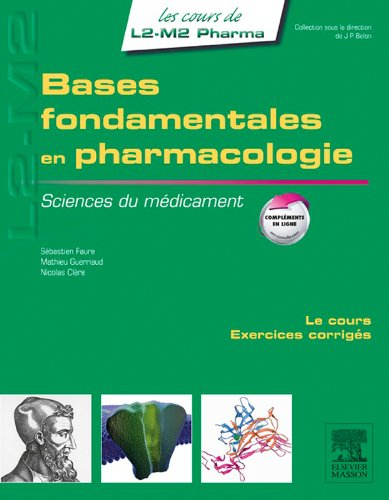 Bases fondamentales en pharmacologie: Sciences du médicament pdf