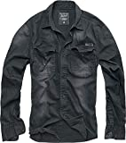 Brandit Hardee Hemd schwarz 5XL