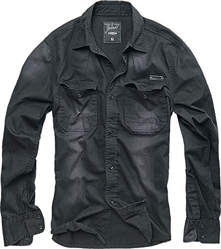 Brandit Hardee Hemd schwarz 3XL