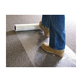 DJM Direct Platinum Carpet Protector Film Self Adhesive 600mm x 25M or 100M (600 x 25m)
