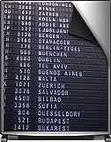 Wallario Magnet für Kühlschrank / Geschirrspüler, magnetisch haftende Folie - 65 x 80 cm, Motiv: Flughafen Abflugtafel