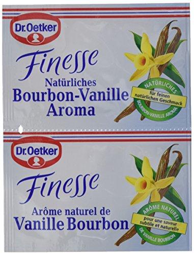 Dr. Oetker Finesse Natürliches Bourbon-Vanille Aroma, 11er Pack (11 x 10 g) -