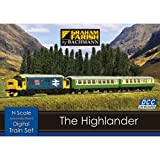 Graham Farish 370-048 The Highlander Digital Starter Set (DCC-Fitted)