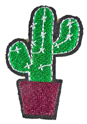 Kaktus Kostüm Basteln - Patch Kaktus 5 x 3 cm