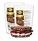 Dr. Almond Paleo Backmischung FREIBURGER SONNENBLUMENBROT low-carb glutenfrei sojafrei 1 g Kohlenhydrate auf 100 g! (2er Pack)