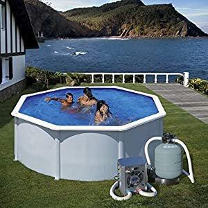 GRE HPM20-Mini pompa di calore per piscina fuori terra fino a 20 m3