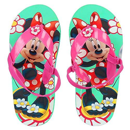 Ciabatte Infradito Bambina Minnie Disney con Elastico (32/33 EU)
