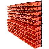 141 tlg.Wandregal Regal + Stapelboxen Gr. 1&2 Box Lagerregal Regalsystem ( 7 teilige bis 156 teilige Sets zum Hammerpreis! )