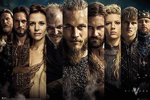 Vikings Poster Grid + accessori