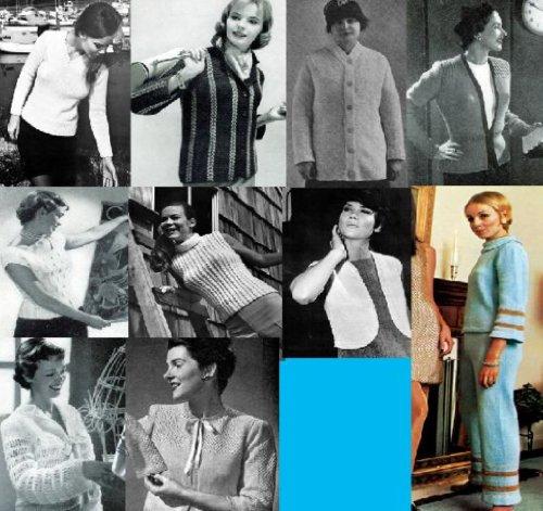 Jerseys, suéteres y jerseys más – suéteres 12 Femenil increíble para tejer por Unknown