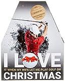 Handelshaus Huber-Koelle'I Love Golf'-Adventskalender, 1er Pack (1 x 960 g)