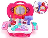 #2: Bring Along Beauty Suitcase Makeup Vanity Toy Set