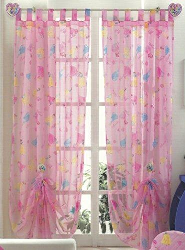 Original Disney Princess Prinzessinen 1 St.XXL Fertig-Schlaufenschal/Gardine/Vorhang 290x140cm PINK NEU