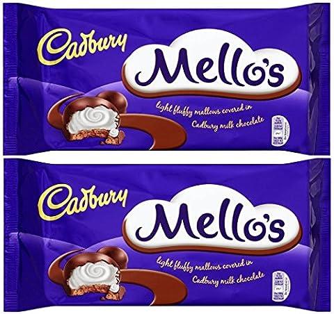 x2 Cadbury Easter Mello's 25% Extra Free