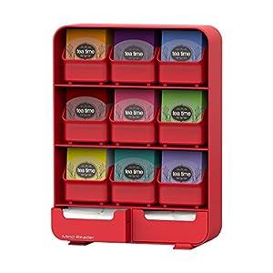 Mind Reader 'Baggy' Titolare Bustina di Tè e Condimento Organizzatore per 135 Bustine di Tè