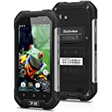 "Blackview BV6000 - 4G Smartphone Libre Android (4.7"" Hd, 1280 x 720P, Octa Core, 32G ROM, 3G RAM, Cámara 13MP, Cristal Corning, Antipolvo Antigolpes, Impermeable IP68), Negro"