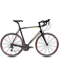 '28pulgadas bicicleta de carretera bicicleta CHRISSON RELOADER 2015con 24velocidades Shimano Claris–Horquilla de carbono mate negro, color negro, tamaño 59 cm (Sw 12), tamaño de rueda 28.00 inches