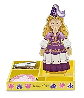 Melissa & Doug Magnetic wooden Dress-Up Doll ,,Elise'