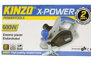 Kinzo 71801 Raboteuse électrique 230 V 600 W