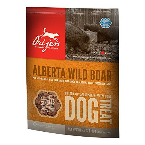 Orijen Treats Wild Boar, friandises naturelles à la viande de sa 56 gr