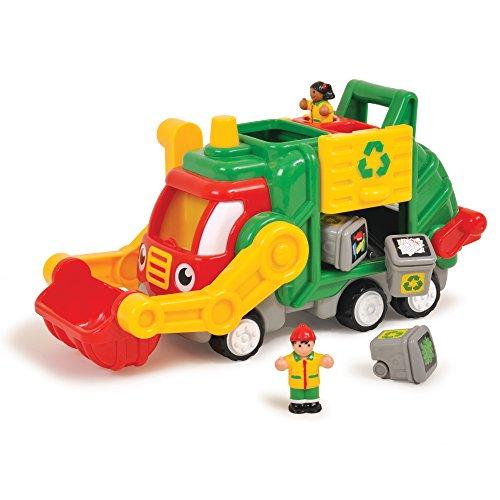 Jumbo WOW Toys - Flip 'n' Tip Fred, coche de juguete (01018)