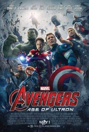 THE AVENGERS : AGE OF ULTRON - US Imported Movie Wall Poster Print - 30CM X 43CM Brand New