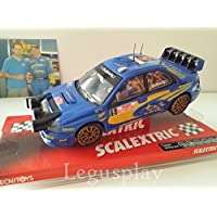 SCX Slot Scalextric 6181 Subaru Impreza WRC Solberg Firmado