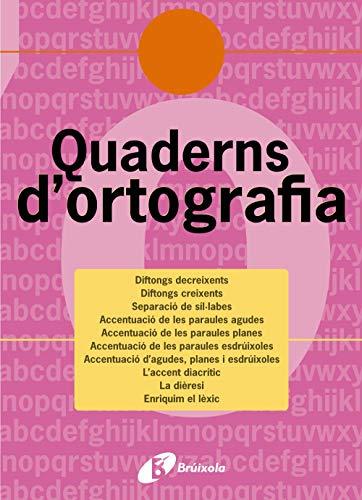 Quadern d'ortografia 9 (Català - Material Complementari - Quaderns D¿Ortografia) - 9788483047736