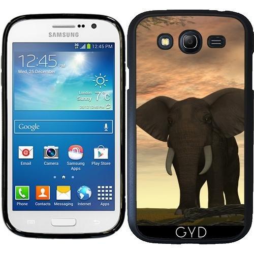Custodia in silicone per Samsung Galaxy Grand i9082 - Elefante by Dedoma