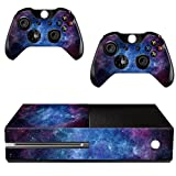 TOOGOO Nebula Pattern Skin Sticker For Xbox ONE Console Controller +Kinect Decal Vinyl