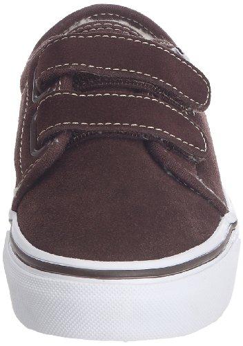 Vans 106 V VOKJ1CV, Sneaker unisex bambino Marrone (Braun ((Fleece) espresso/true white))
