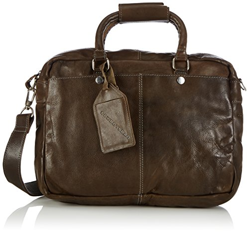 Cowboysbag Unisex-Erwachsene Bag Washington Henkeltaschen, Grau (Grey 140), 39x29x10 cm Cowboys-handy-fall